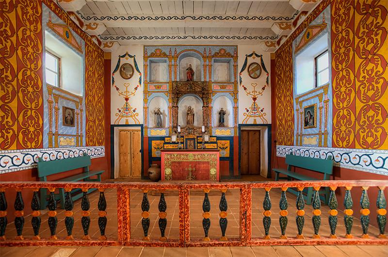 Chapel Santa Barbara Presidio